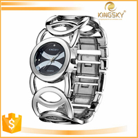 Latest arrival Japan movt couples wrist watch for unisex