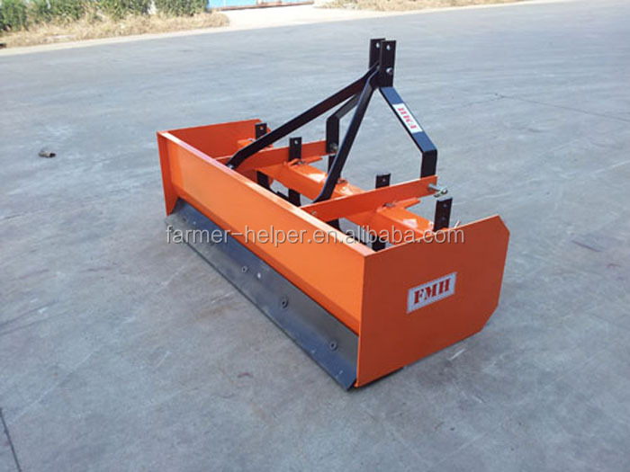 High quality tractor box scraper land leveling buy