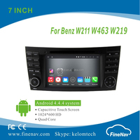 In Dash Radio Bluetooth TV Map Stereo Audio Car DVD Player for W211 with GPS Navigation Gps Navigator special car dvd player