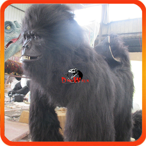 New brand 2017 animatronic gorilla costume for promotion