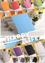 Foldable stand magnetic smart cover case/ smart cover case for ipadmini/air
