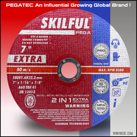 180x1.6mm SKILFULcutting and grinding wheel for sharpening carbide tools