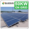 Bluesun high quality best price grid tie 50kw solar system information in hindi