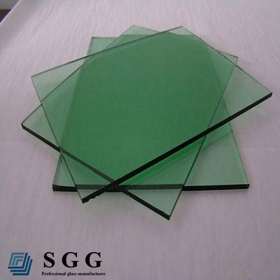 High quality clear french green auto glass