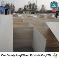 FSC certification paulownia wood for snowboard,furniture