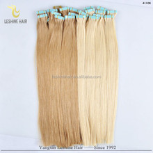 High Grade Waterproof Tape Wholesale Price Remy Top Quality chinese human hair double drawn