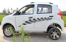 Pure Electric Urban Car Convert Type Dual 6000w Car