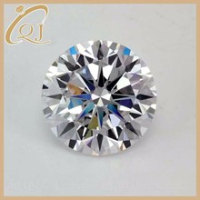 Hot Sale Loose 5.25MM Round Shape White Synthetic Cubic Zirconia Gemstone
