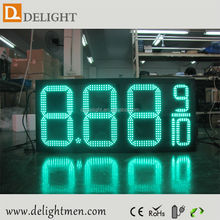 led signs for gas stations/ digital fuel price signs/ outdoor led gas price screen