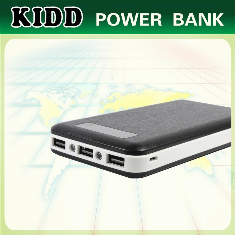 High Capacity Power Bank 20000mAh With LED Torch for iPhone6 iPad Galaxy Note 3 Blackberry