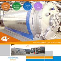 High Efficiency Plastic Recycling Waste to Energy Industry Pyrolysis Plant