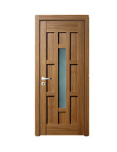 Manual solid timber wood door with good quality