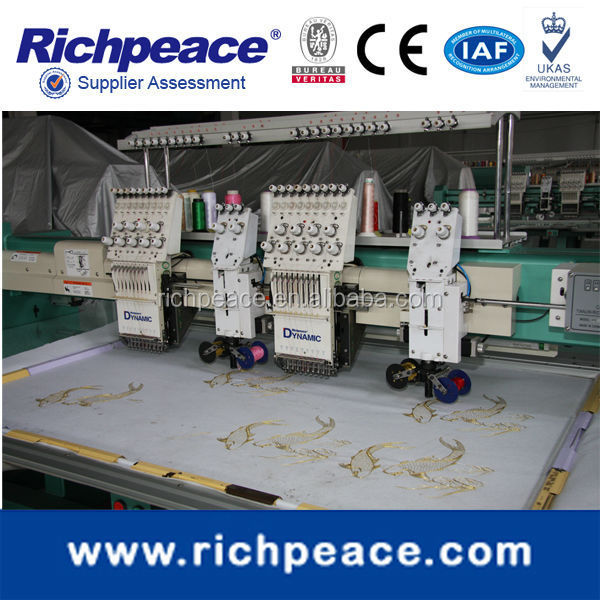 Richpeace mixed coiling & cording embroidery machines/coiling/lace embroidery machines/taping embroidery machines