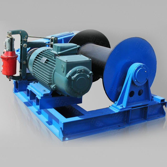 Electric Motor Pulling Cable Engine Winch View Engine