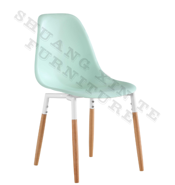 2019 new design hot sale dining room furniture <strong>iron</strong> frame light green dining chair
