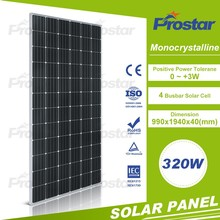 cheapest price mono silicon photovoltaic panel 320w mono solar module