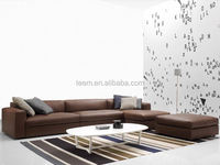 modern home furniture soft sofa set with stool leather sofas and home furniture
