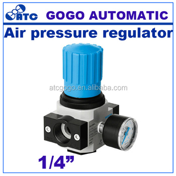 Air compressor pressure regulator