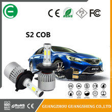 led headlight S2 electric conversion kit H4 H7 H11 HB3 HB4 9005 9006 2017 Automobiles & motorcycles 60W 7600LM led headlights