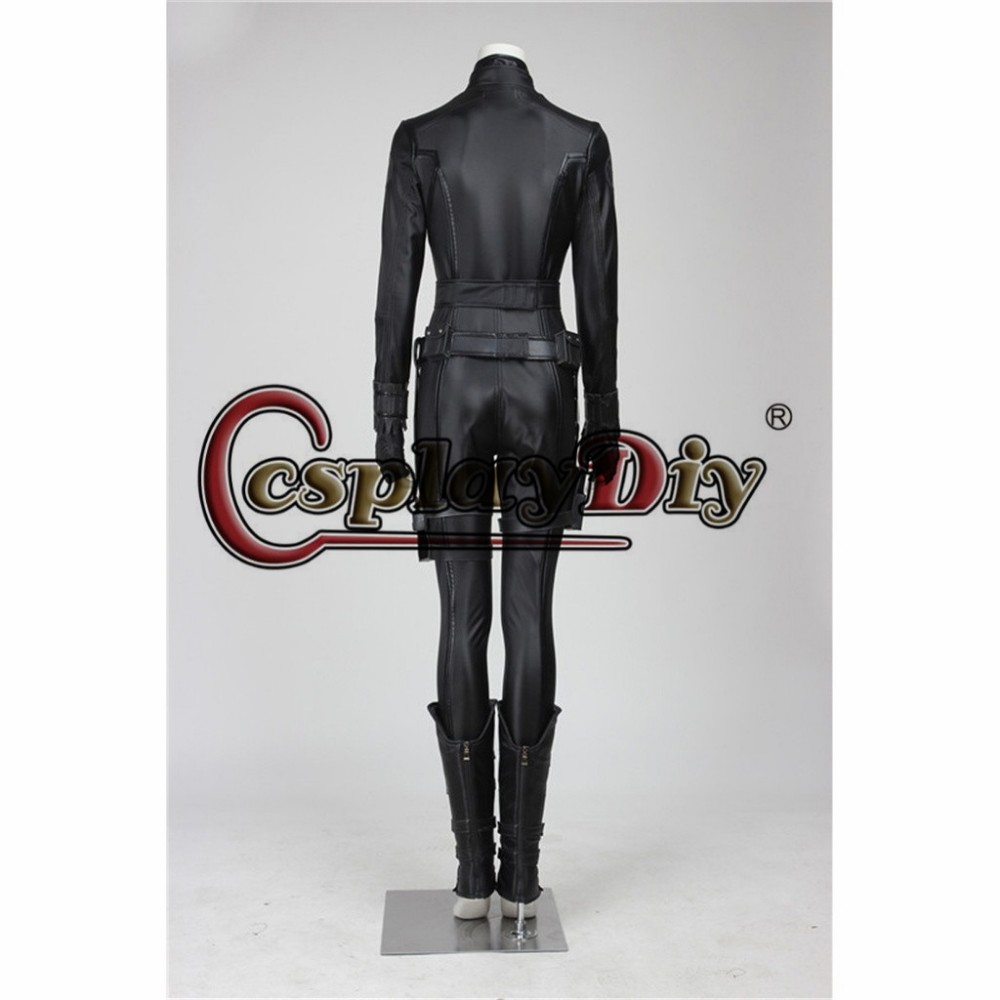 Custom Made Marvel's The Avengers Black Widow Adult Halloween Cosplay Costume