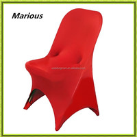 Banquet Chair Used 190gsm Spandex Chair Covers folding