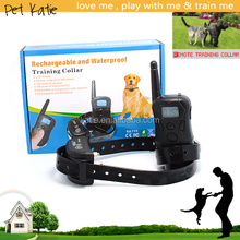 Professional Aggressive Dog Training Remote Shock Collar Waterproof