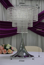 glass crystal chandelier wedding centerpiece wedding favours new products 2016