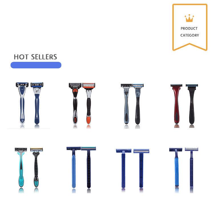 R319 Three Blade Imported Stainless Steel Germany 3 Blade Razors