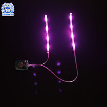 Hot sell USB flexible colors led flashing light strip for decoration table lamp