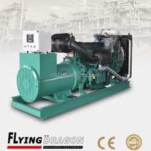 Factory wholesale price, 600kva silent diesel engine power alternator generating with soundproof canopy