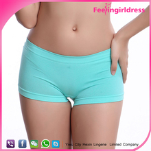 New Arrival Breathable Plain Color Mid-rised Sex Women Panty