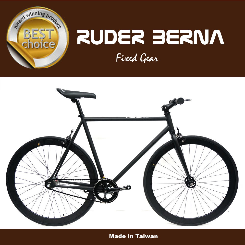 Ruder berna surrey cycle flip flop hub fixie gear bike cheap carbon fibre mountain bike