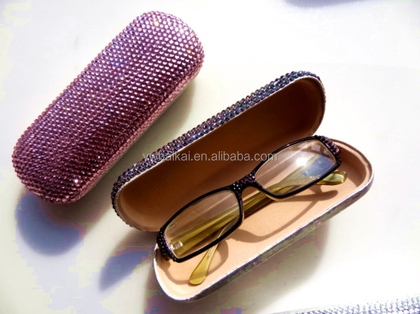 fashion crystal eyeglasses box /Spectacle case