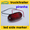 truck trailer bus piranha led side marker lamps