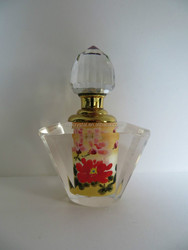 SCREW TOP GLASS multicolored PERFUME BOTTLE MH-X0727