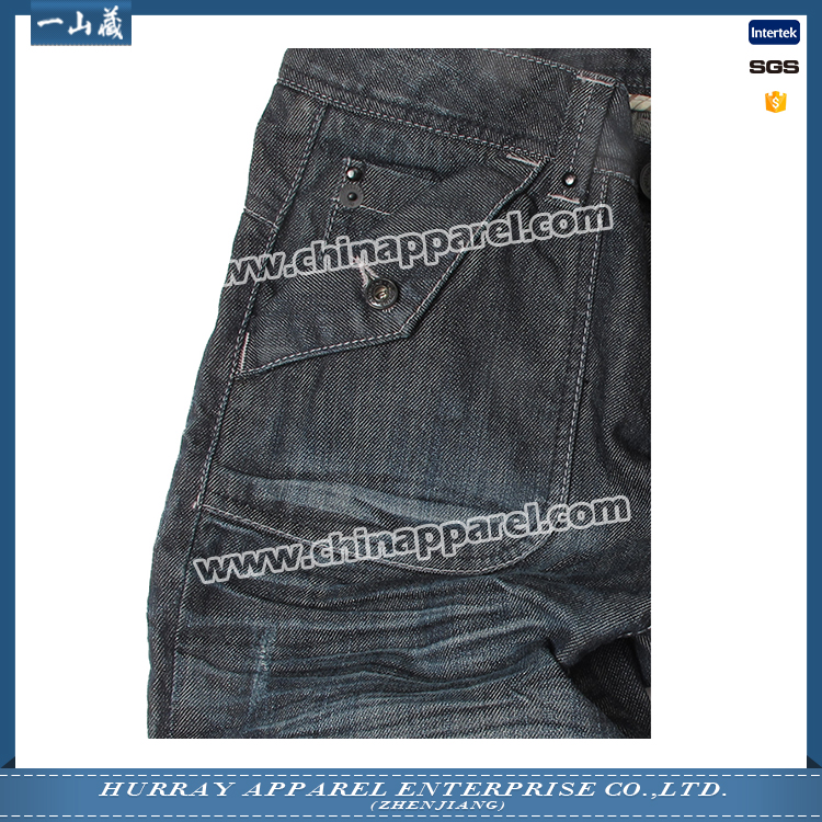 Promotional suit welt pocket jeans From China supplier
