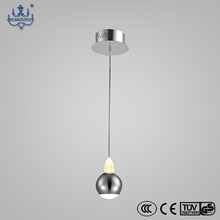 Top sale industrial crystal ball modern hanging led pendant lights