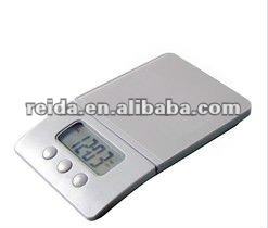LED kitchen scale with digital timer