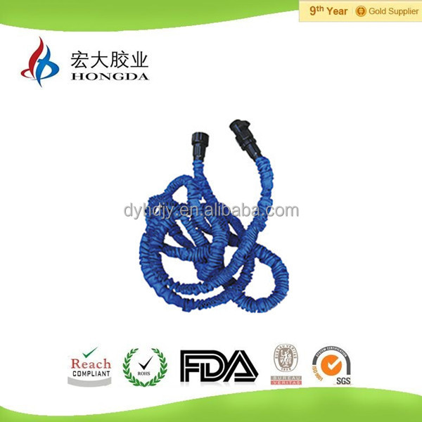 Expandable Garden Hose with Thread Couplings