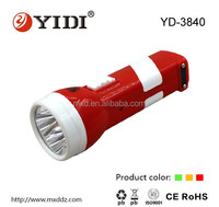 4 LED super brightness rechargeable light mini power rechargeable led solar dynamo torch