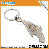 Zinc alloy material shark shape Mexico metal souvenir key chain