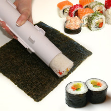 Camp Chef Sushi Roller Kit, DIY Sushi Making Machine, Platic Sushi Bazooka