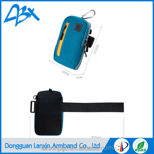 Light blue Wholesale armband sports case for iphone 4