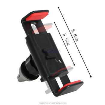 360 Adjustable Car Air Vent Mount Holder Stand Cradle Clamp Holder For Mobile Phone GPS