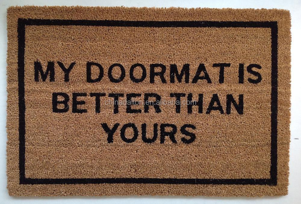 Rude bizarre weird odd welcome door mats buy rude door mats bizarre door mats rude bizarre - Offensive doormats ...