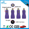 Mini design special car charger for mobile phone
