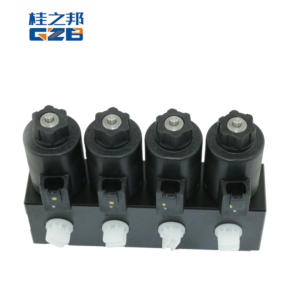 11214454 SDLG parts multifold solenoid valve ZS-U09-A1111P-MD28G-31 four way electromagnetic valve for LG6300 EC360