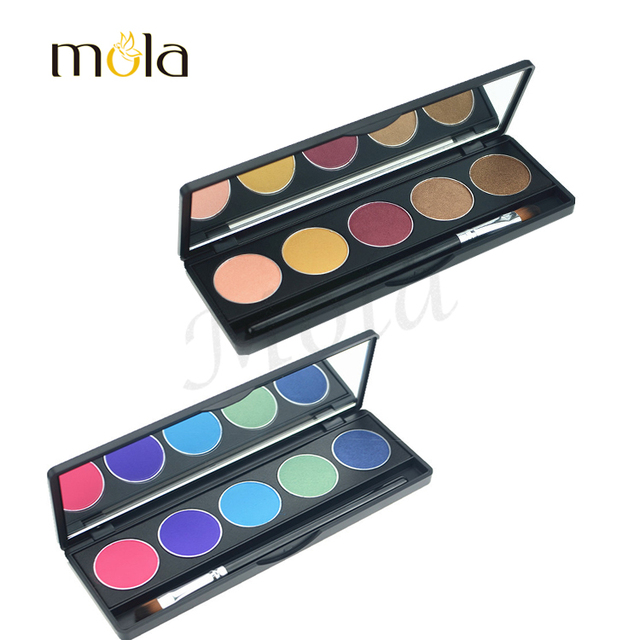 Cheap wholesale custom cosmetic cheap colorful eyeshadow palette and blusher makeup gift sets make up