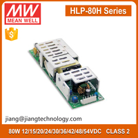 80W LED Power Supply 30V 2.7A HLP-80H-30 Mean Well Open Frame LED Driver Dimmable