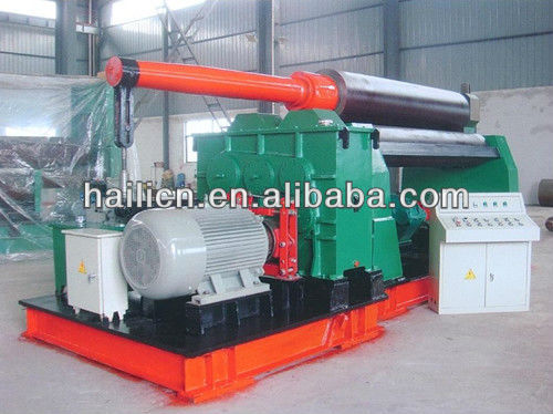 Affordable 3 Roll small roller bending rolling machine steel sheet Price, W11 16X2500mm